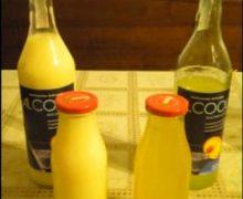 Liquore al mandarino o Mandarinetto e crema di liquore al mandarino