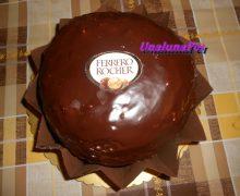 Torta Ferrero Rocher per la festa della donna