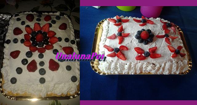Torta compleanno allo yogurt per celiaci senza glutine by Daniela