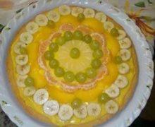 Crostata con crema pasticcera e  frutta fresca di Anto