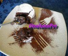 Tortino al cioccolato con cuore liquido (fatto con zia P.)