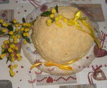 festa della donna -il pandoro si trasforma in torta mimosa velocissima