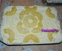 Tiramisù crema chantilly ananas e cioccolato bianco e limoncello